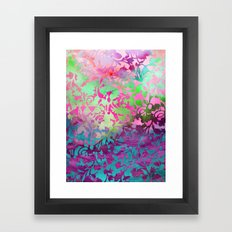 Earth_Watercolor by Jacqueline & Garima Framed Art Print