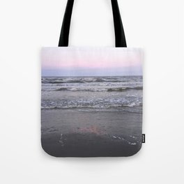 pink as the seafoam Tote Bag