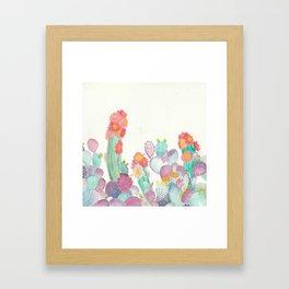 Pretty And Prickly Framed Art Print