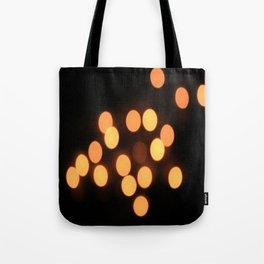 Blurred Lights Tote Bag