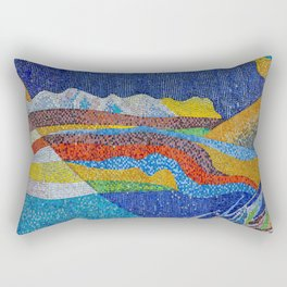 Art Piece by Soviet Artefacts Rectangular Pillow