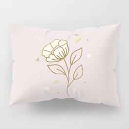 MAGICAL FLOWER - mystic illustartion Pillow Sham