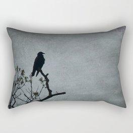 Majestic Crow Rectangular Pillow