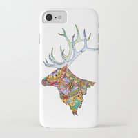 elk iPhone & iPod Cases featuring Elk  by kristinasheufelt