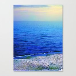 Curonian Spit. Coast of Baltic sea Canvas Print