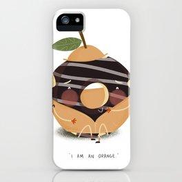Orange Donut iPhone Case