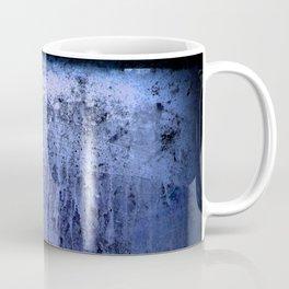 Old blue window at night Coffee Mug
