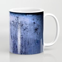 Old blue window at night Coffee Mug