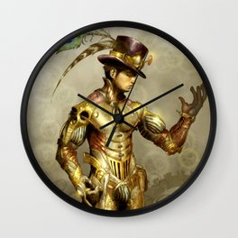 Mr. Steampunk Wall Clock
