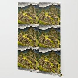 Machu Picchu Hi-Res HDR landscape Peru Wallpaper