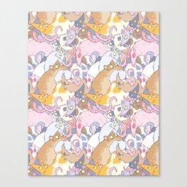 Fancy Rat Pattern Canvas Print