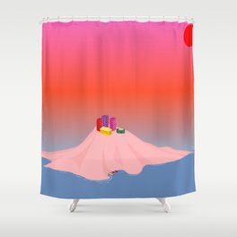 Isolate // Suffocate Shower Curtain