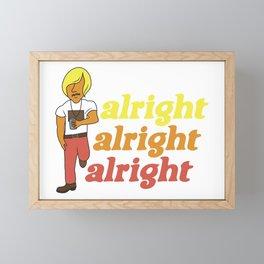 Wooderson Framed Mini Art Print