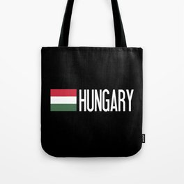 Hungary: Hungarian Flag & Hungary Tote Bag