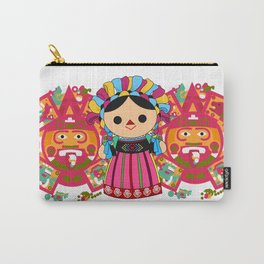 Maria 3 (Mexican Doll) Carry-All Pouch