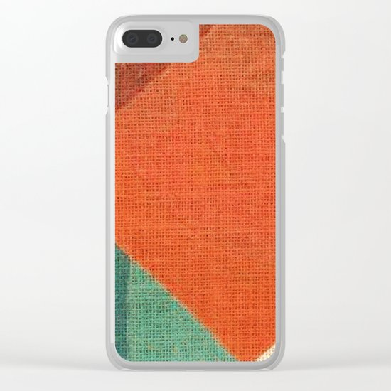 Simple Square Clear iPhone Case