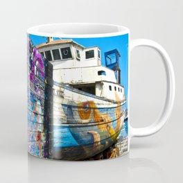 Old Sicilian Port of Alcitrezza Coffee Mug