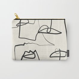 Abstract line art 12 Carry-All Pouch