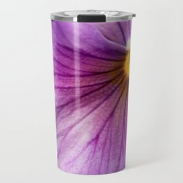 Purple Pansy Flower Close-up #decor #society6 #buyart Travel Mug