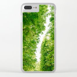 Tuileries Garden IV Clear iPhone Case