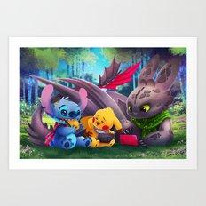 Game On Art Print