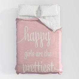 Happy Girls Duvet Cover