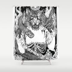 No Miracles Here Today Shower Curtain