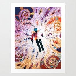 Powder Princess Art Print