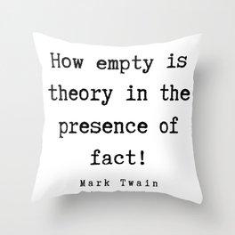 60| Mark Twain Quotes | 190730 Throw Pillow