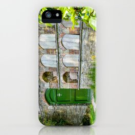 The Lost Gardens of Heligan - Bee Boles and Gate iPhone Case