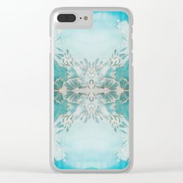 Coastal Beauty Clear iPhone Case