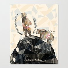 my love's another kind Canvas Print