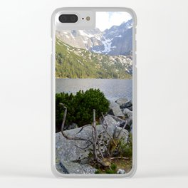 Morskie Oko in May Clear iPhone Case