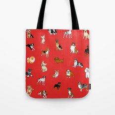 Dog breeds! Tote Bag