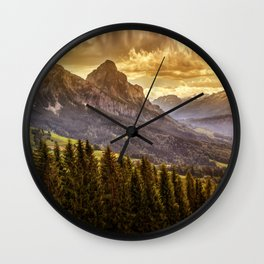 Grosser Mythen Wall Clock