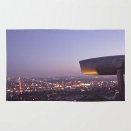 Angel City Lights, L.A. at Night, No. 3 Rug