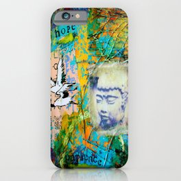 Hope and Patience iPhone Case