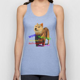 Fallout 4 Doge Unisex Tank Top