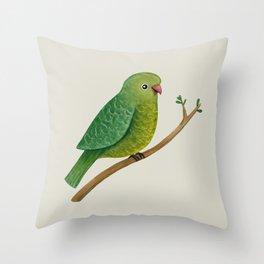 Cute Parrot Throw Pillow