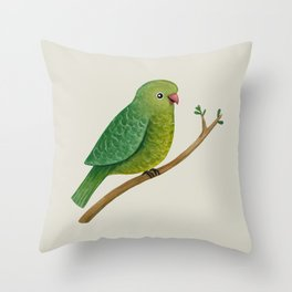 Cute Parrot Throw Pillow