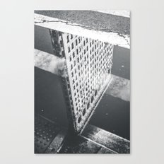 Flat Iron Building - NYC Reflection Canvas Print