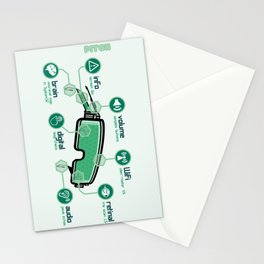 Pitch : Une vision digitale Stationery Cards