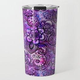 Purple Paisley Vision Travel Mug