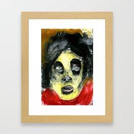 Der Kopf Framed Art Print