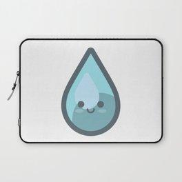 Water Drop Emoji Laptop Sleeve