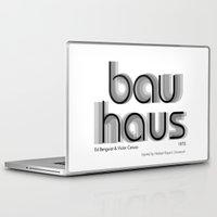 bauhaus Laptop & iPad Skins featuring ITC Bauhaus by Ana Guillén Fernández
