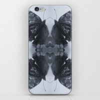 moth iPhone & iPod Skins featuring Moth  by Ali Prentice