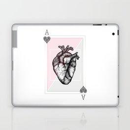 Ace of Hearts Laptop & iPad Skin