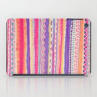 decal iPad Cases featuring TRIBAL CRAYON / by Vasare Nar