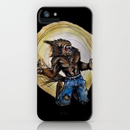 Werewolf ! iPhone Case